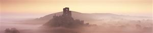 Corfe in the Mist