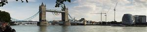 Tower Bridge at the Olympics