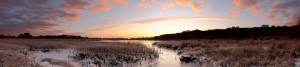 Winter Daybreak Christchurch Harbour